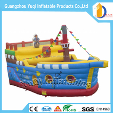 High Quality Inflatable Boat Bouncy Castle Slide ,Ship design Slide Inflatable Jumping House for Indoor Outdoor Playground Use