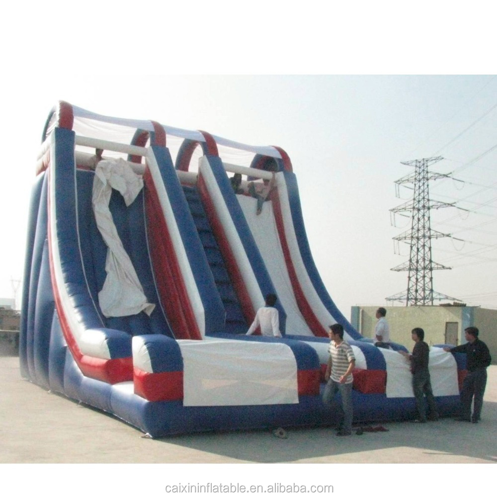 christmas Festival Themed Inflatable Slide For Kids Gifts