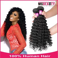 High beauty new style virgin Indian deep wave hair extension human hair wigs.