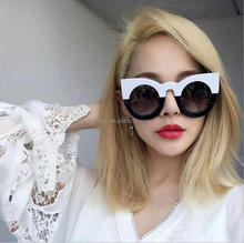 L0950A Women oversize round party sunglasses/cat eye 2017 beach sunglasses