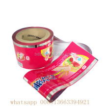 Factory metalized pet vmpet plastic film for food medicine film