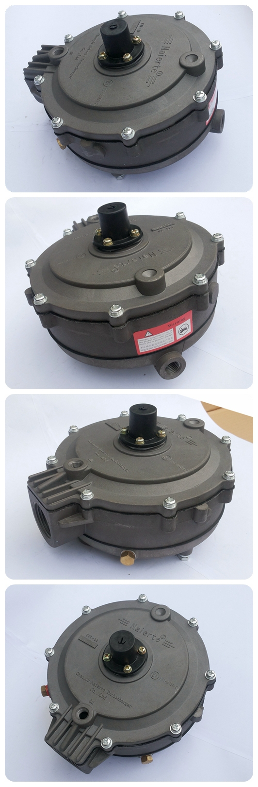 Diesel and CNG dual fuel system low pressre reducer for bus truck