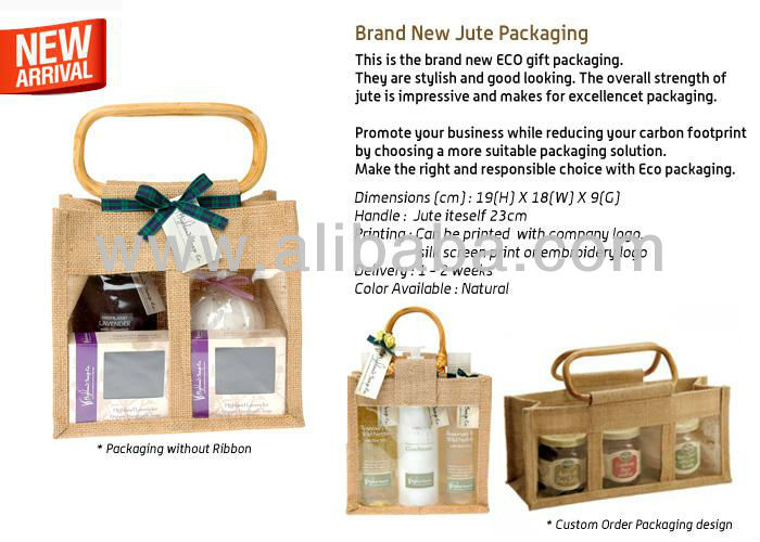 Jute Packaging Bag- JP228