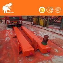 Iso Certified Rail Mounted 10 Ton Semi-Gantry Gantry Crane Load And Unload With Spreader