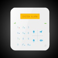 Multi-languages Intelligent wireless home perimeter alarm system with gas/smoke detector