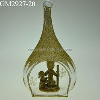 Wholesale opening glass nativity set crafts for Europe