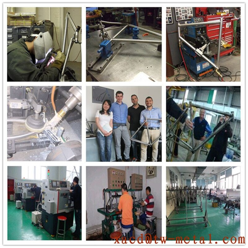 titanium mountain bicycle frame  ti mtb bike frame chinese titanium bicycle frame with high quality