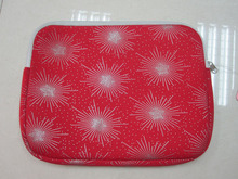 2014 Beauty red 3mm neoprene laptop cover14""