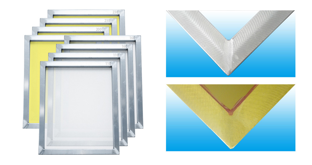 Aluminum Screen printing frame For Canvas bags Printing