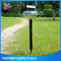 20LEDs solar charged outdoor stick LED lights used for outdoor post, wall or ground