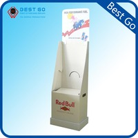 Hot sale hanging t shirt display racks, cardboard t shirt display stand