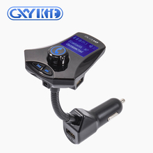 GXYKIT mp3 player car stereo usb fm transmitter 3.5mm aux car handsfree kit