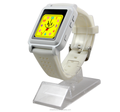 hot new kids silicone wrist watch with color panel screen and