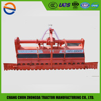Farm tractor cultivator supercharged single-drive rice feild rotary tiller with reasonable price