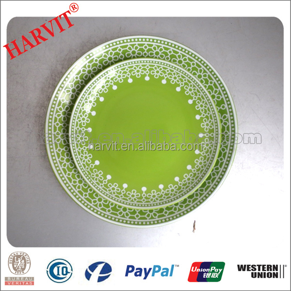 New!!! Colorful dinner plate/made in china dishes plates/Alibaba euro ceramic plate