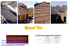 High-end step stone coated metal roof tile roof tile for villa