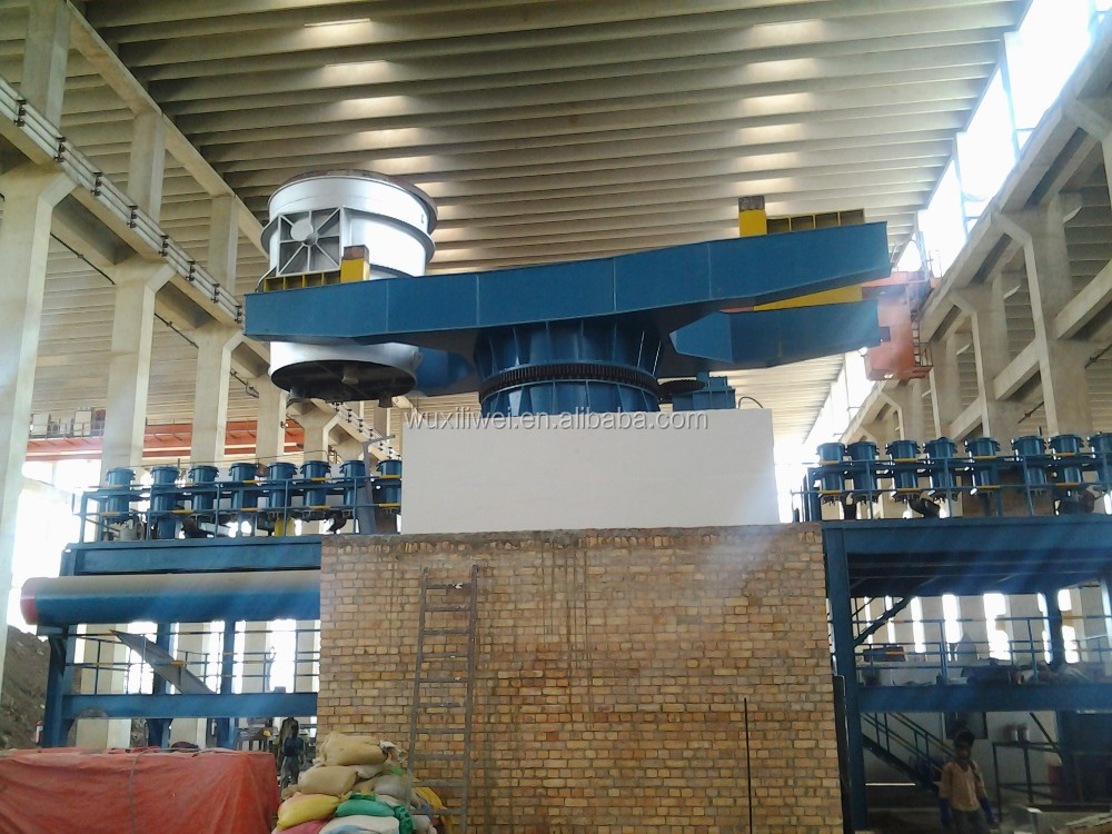 Ladle Turret for continuous casting machine