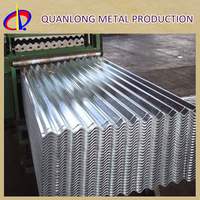DX51D Zinc Coarrugated Long Span Factory Direct Metal Roofing