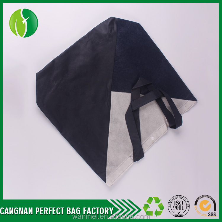 Customize large nonwoven shopping straw tote bag cheap goods from china