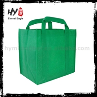 Professional handle printed non-woven gift bags with shopping
