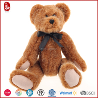 Hot sale supply teddy bear with movable arms and legs for kids as presents