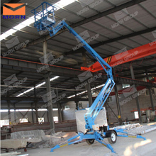 hot sale 14m mobile man lift cranes