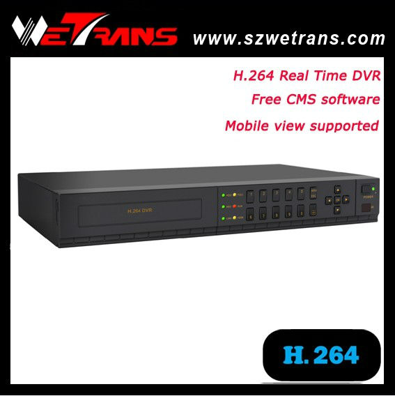 China cheap Security camera 8 CH DVR H.264 Support audio and alarm P2P 960H surveillance h 264 network dvr setup