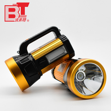 Lithium Ion Battery Powered Aluminum ABS Portable Rechargeable LED Searchlight