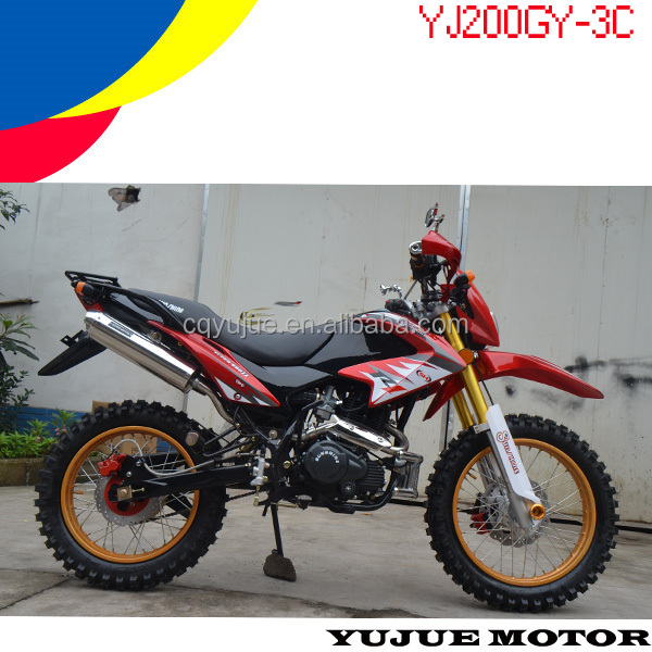 New Chinese 200cc Engine Dirt Bike For Sale