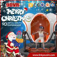 2016 newest 360 degrees viewing angle camera/electric virtual reality vr 3d glasses 9d cinema/3 seats 9d vr egg cinema