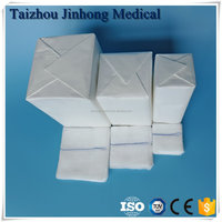 100% cotton fabric medical textile gauze sponges