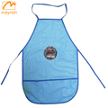 Plastic PVC Aprons with Logo For Kids