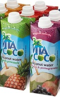 100% Pure Natural Coconut Water With Flavored (Sugar-Free)