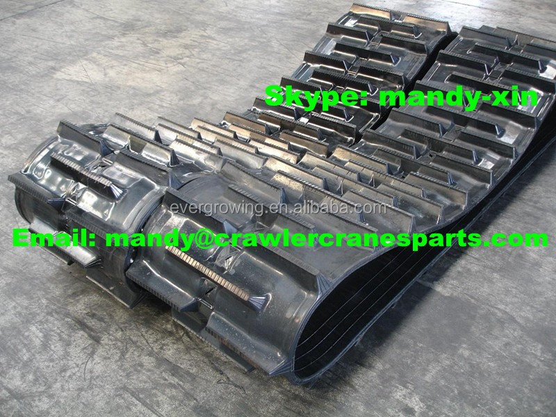 Rubber Crawler Track for Combination Harvesters