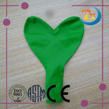 colorful heart shape latex ballon