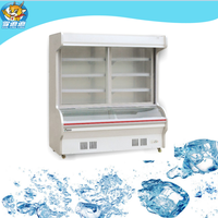 order dishes cabinet for restaurant refrigerator/dishes showcase