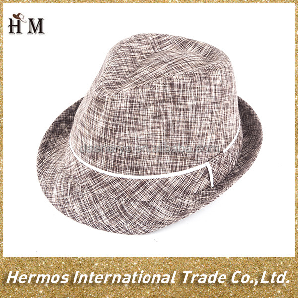 Favorable price hand make short brim wide brim fedora hat