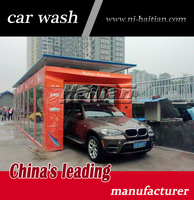 American technology auto tunnel car wash with soft brushes automatic