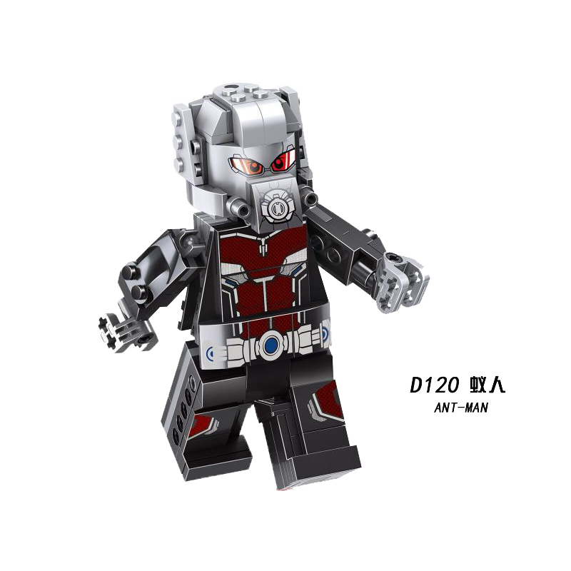Kopf <strong>A</strong> Figures Super Heroes Big Ant-Man 14CM Figure Building Blocks Children Toys <strong>D120</strong>