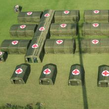 large inflatable medical tent / military air shelter for emergency relief