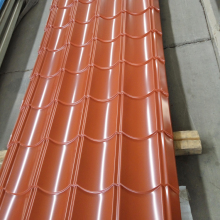 Cheap Corrugated steel roofing sheet / metal iron tile of China in ready stock