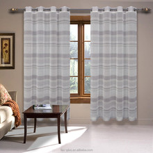 2017 new design sheer window curtains