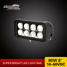 Driving Off Road Led Bar 80W CREE LED Light Bar Lighting Spot Flood Comb Beam for SUV 4x4 Truck Mini Jeep Off-road Vehicle
