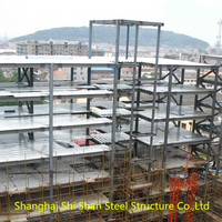 Multi Storey Steel Structure Commercial Buildings