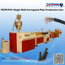 pvc corrugated pipe machine with price