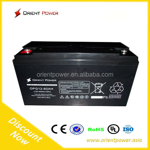 12v Voltage and Free Maintenance Type YTX9-BS gel motorcycle battery