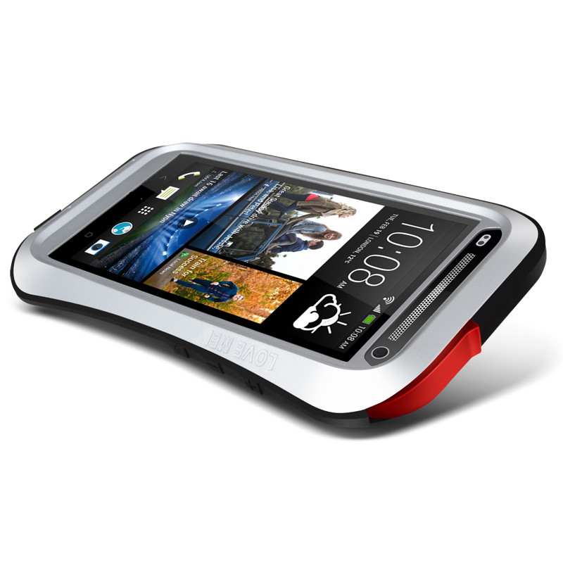 High Quatity Hybrid Stand Shockproof Case For HTC Desire for HTC one max t6