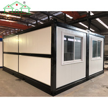 New design Steel structure 2 in 1 Folding container house