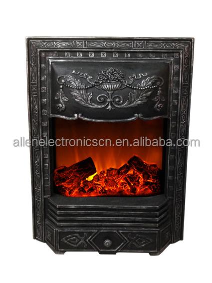 Faux Antique Electric Fireplace Cast Iron Stove View Cast Iron Stove Allen Product Details
