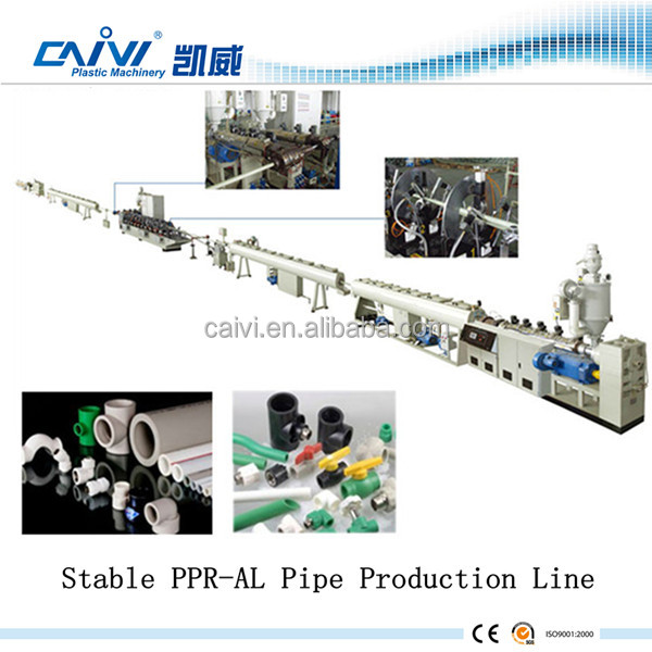 PPR plastic pipe tube machine